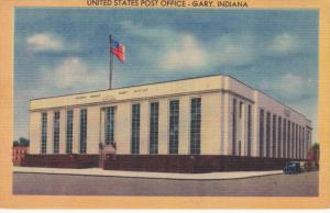 Post Office , GARY , Indiana , 30-40s