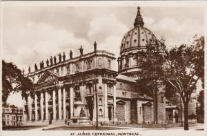 RP: St James Cathedral , MONTREAL , Quebec , Canada , PU-1938