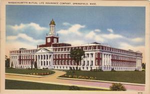 Massachusetts Mutual Life Insurance Company, SPRINGFIELD, Massachusetts, 1930...