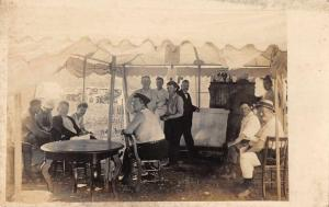 Chester Pennsylvania Camping Scene ?  Real Photo Antique Postcard J75957