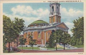 North Carolina Winston Salem First Baptist Church