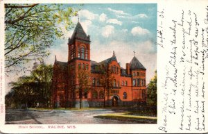 Wisconsin Racine High School 1906
