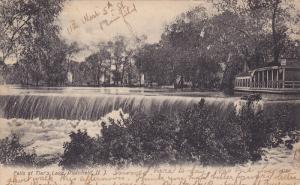 Falls at Tier's Lake, Plainfield, New Jersey, PU-1907