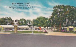 Florida Saint Augustine San Marca CourtJust A Shade Better Albertype