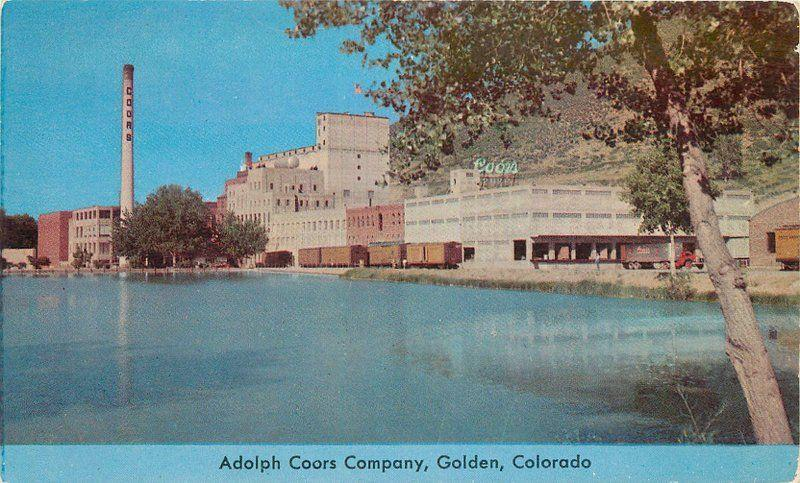 Adolph Coors Company 1950s Golden Colorado Colorpicture Beer Brewery 1899