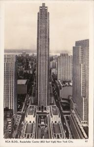 New York City R C A Building Real Photo