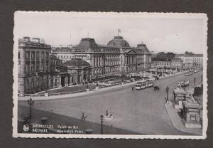 The  King's Palace, Brussels, Belgium - Real Photo - Used 1937