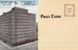 BILLINGS, Montana, 1930-40s; Northern Hotel