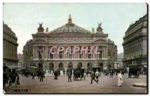Paris Old Postcard L & # 39opera