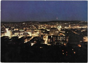 Germany, Stuttgart. Stuttgart at Night. Mint - Nice