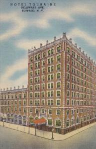 Hotel Touraine, Delaware Ave, Buffalo, New York, 1930-40s