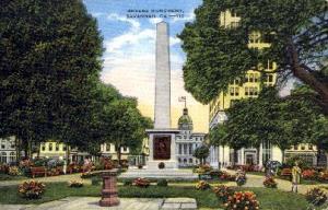 Greene Monument Savannah GA Unused