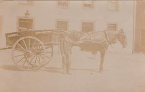 RP: Charles Douglas & Paddy wagon, Ireland , 1910