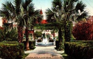 Florida St Augustine Hotel Alcazar The Fountain