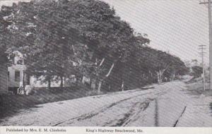 Maine Beachwood King's Highway