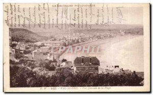 Old Postcard Val Andre General view of the Beach
