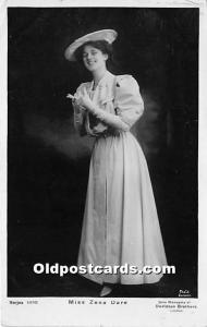 Miss Zena Dare Theater Actor / Actress 1906