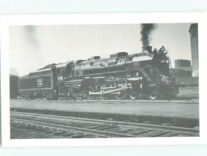 Pre-1980 This Is Not An Rppc BLACK-AND-WHITE OLD TRAIN AC7448