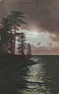 Moonlight On Lake Tahoe, GLENBROOK, Nevada, PU-1909