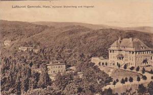 Kurhotel Stubenberg Und Hagental, Luftkurort Gernrode, Harz, Germany, 1900-1910s