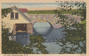 ALTON BAY, New Hampshire ,1930-1940s ; Back Bay Bridge