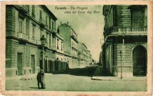 ITALY PC Taranto Via Pitagora vista dal Corso due Mari (a52)