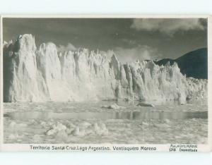 old rppc PERITO MORENO GLACIER Lago Argentino - Santa Cruz Argentina i2501