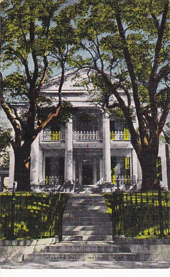 Stanton Hall Built In 1851 Natchez Mississippi