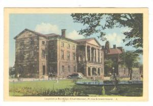 Legislative Buildings, Charlottetown, Prince Edward Island, Canada, PU-1940