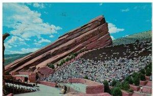 Postcard - Red Rocks Theatre, Denver Mt. Parks, Colorado, Easter Sunrise Service
