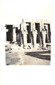 Rameses III & Entrance to Queen's Tomb Thebec Egypt Real Photo RPPC Postcard