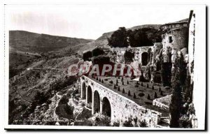 Old Postcard Gourdon Jardins du Chateau