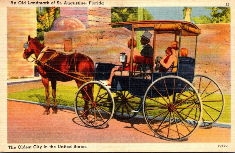 Florida St Augustine Sightseeing Carriage
