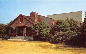 Matunuck Rhode Island~Barn Summer Theatre-ByThe Sea~Postcard 1960s