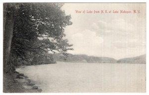 View of Lake from N. E. at Lake Mahopac, N.Y.