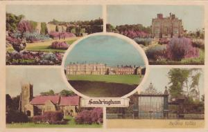 5-Views, Sandringham, Gardens, North Front, Sandringham Church, Norwich Gates...