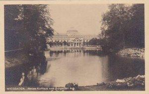 Germany Wiesbaden Neues Kurhaus vom Kurgarten aus