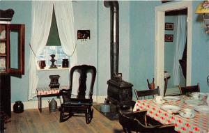 Amana Colonies Iowa~Old Amana Home Kitchen~Hand Mill by Window~Stove~Table~Pc