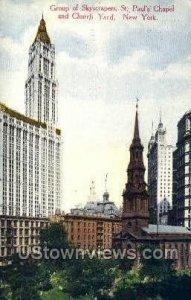 St. Paul's Chapel & Church Yard in New York City, New York