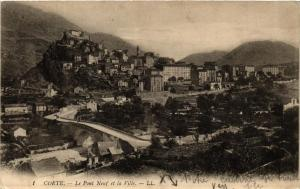 CPA CORSE Corte- Le Pont Neuf et la Ville. (711578)