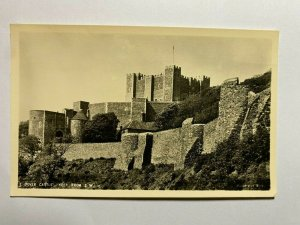 UNUSED VINTAGE POSTCARD - DOVER CASTLE FROM SOUTH WEST    (KK1158)