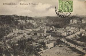 CPA Luxembourg, Faubourg de Clausen (30558)
