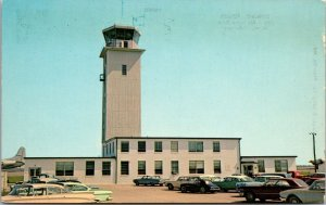 Delaware DE Dover Air Force Base Control Tower Postcard Old Vintage Card View PC