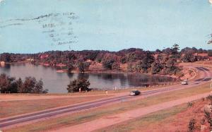 Canada The Thousand Islands Ontario Scenic Highway Cars 1957