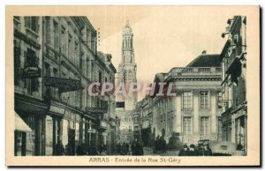 Old Postcard Arras - Entree Rue St-Gery