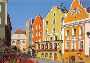 Schaerding am Inn Hotel-Gasthof Zur Stiege Auto Cars, Rathaus Town Hall