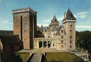 France Pau Le Chateau Castle 1971 Postcard