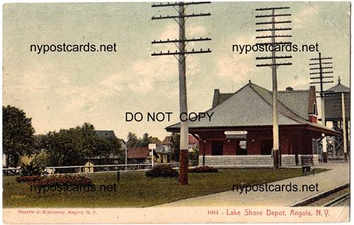Lake Shore Depot, Angola NY