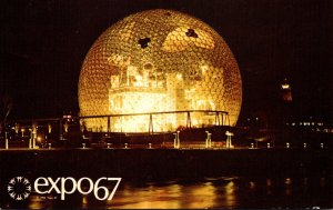 Canada Montreal Expo67 Pavilion Of The United States 1967