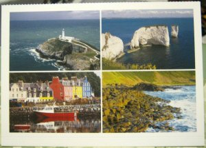 Postcard Various Scenes of the British Coast - unposted